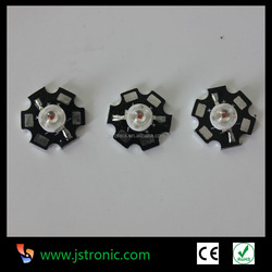 High brightness 1W yellow high power led with PCB star