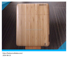 High quality specifically designed wood phone case for iPad Mini, bamboo wood case for ipad mini