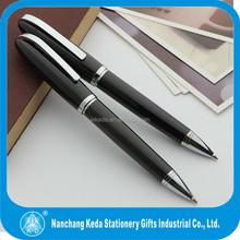 2015 new desigh Christmas gift classic black Kugelschreiber fancy ballpoint pen