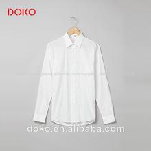 2014 chegada nova algodão/poliéster mangas compridas com um bolso mais recente camisas para homens de fotos