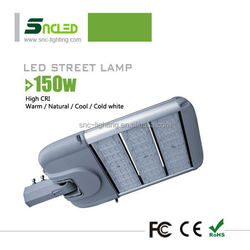 150w, hgh quality led outdoor light with IP65, with Mean Well driver module led street light