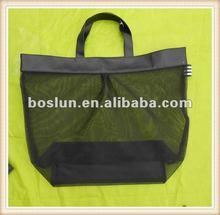 2012 stylish Recycle Transparent gauze shopping bag