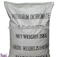 Potassium Dichromate Industrial grade Best factory