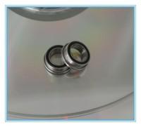 "Long-life rubber shields bearing FR168-2RS 1/4""x3/8""x1/8"" Inch flanged ball bearing"