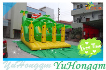 2014 Hot Sale Jungle Tiger Inflatable Slide for Kids and Adults Play