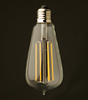 2015 NEW 2W LED Candle Light China LED Light E14 E27 LED Filament bulbs