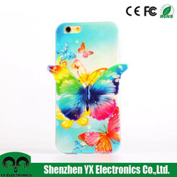 color changing fashion 3d mobile phone cover for iphone 6