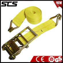 """4""""inch Polyester Truck Cargo Strap with Logo for Cargo Management System"""