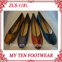Colorful Low Heel Flats For Women