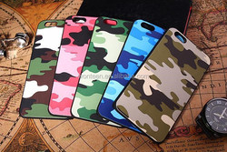 For iPhone 6 Hard plastic phone case in Camo/Camouflage design