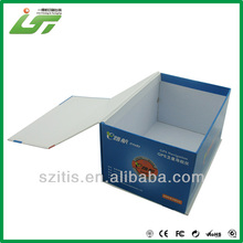 colorful printed memory card packaging box customer logo