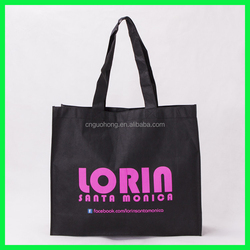 pp non woven shopping bags for packing fruits and vegetables,eco ink nonwoven reusable bags