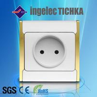 single wall outlet socket with surge protector