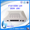 4*100M FTTH Optic Fiber GEPON ONU Compatible with Huawei OLT