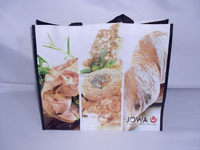 Customized best selling pp woven pictures printing shopping bag