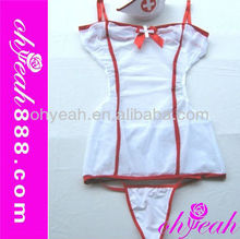 2014 Fashionable sex pvc nurse costume