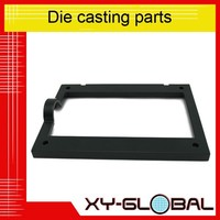 china guangdong high demand Black coated aluminum alloy 6061 die casted kitchen frame