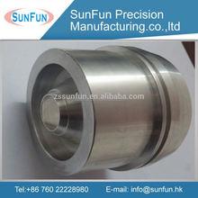 Custom made cnc machining parts natural anodized aluminum