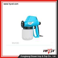 high quality antistatic electrostatic paint spray gun adjustable and wall paint spray gun