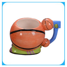 ceramic basketball cup