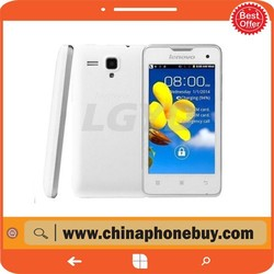 Lenovo A396 4.0 inch 3G Android 2.3 Smart Phone, SC7730 Quad Core 1.2GHz, ROM: 512MB, WCDMA & GSM(White)