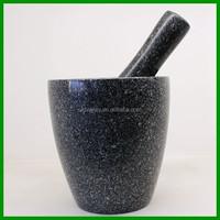 Natural Granite/Stone mortar and pestle , mortar grinder ,stone cooking bowl/kitchware