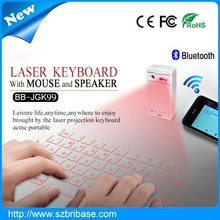 Multifunction Virtual laser keyboard Red Infrared projection keyboard 2015 laser Air mouse