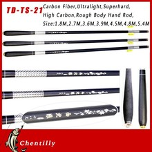 With 18 years experience Hot selling graphite fishing rod blanks Hand Pole Streams Lures fishing rod