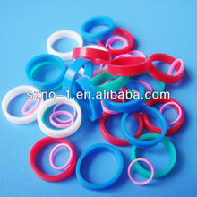 Factory direct sale top quality custom shape colours sealing cap silicone rubber gasket