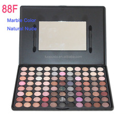 No Brand Wholesale Makeup 88 Full Color Nature Nude Marble Color Eyeshadow Palette