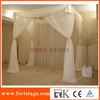 Portable portable pipe and drape curtain for wedding