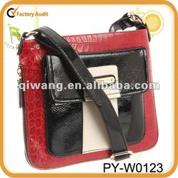 2014 women stylish cross body bag with ipad compartment