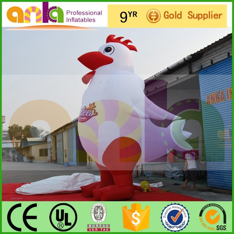 Inflatable Model (advertisement, rooster, ANKA)