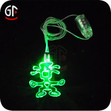 2014 New Products Halloween Flashing Necklace