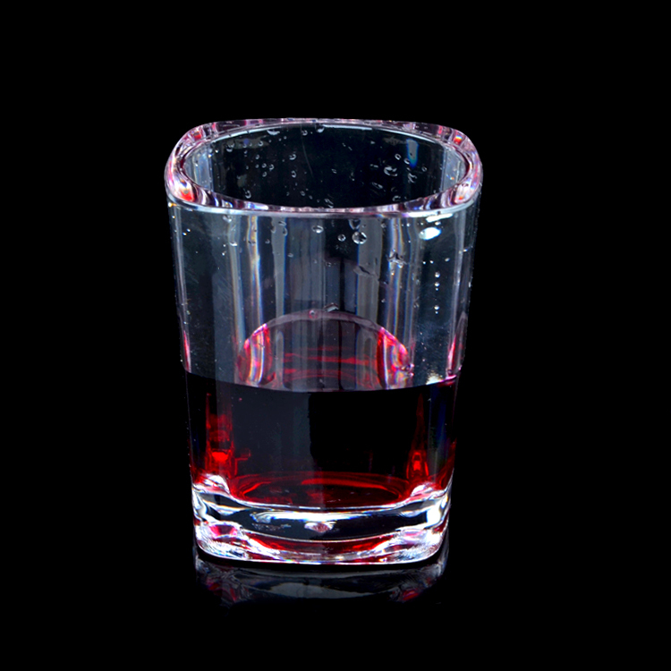 Wholesale Good Quality Round Plastic Wine Cup Plastic Wine