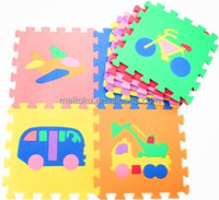 Vehicle puzzle jigsaw educational children eva play mat