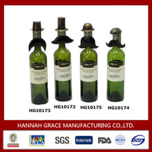 Chic Wine Bottle Toppers Wedding Gifts