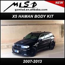 2007-2013 china supplier automobile cars auto parts X5 HM haman E70 body kit