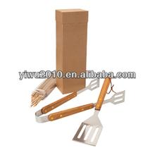 Bamboo Eco Bbq Set