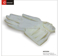 Salon barber shop power free Natural Latex Gloves wholesale