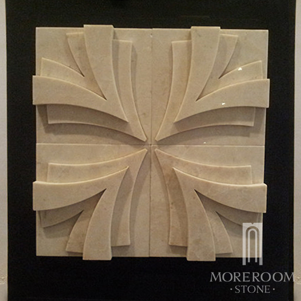 MPC178R-H08 -4 Turkish Cappuccino Marble Stone Marble wall panel CNC WALL TILES 3D DECOR  MOREROOM STONE.jpg
