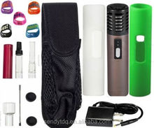 ARIZER AIR rex dry herb vaporizer box mod/ Smiss V8 e cigarette battery/ automatically temperature control system with
