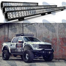 Factory price pencil 6500k 20 inch led 4wd portable led light bar, car roof top light bar, dual row led light bar