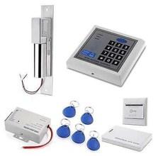 RFID Access Control System Kit Set Electric Bolt Strike Lock EM-ID Card