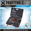 "150pcs 1/4""&3/8""&1/2"" high quality car emergency tool kit"