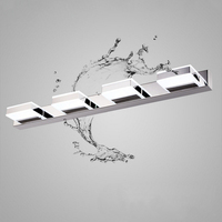 Simple Design 3W/6W/9W/12W LED Wall Lamps Waterproof LED Mirror Lamp