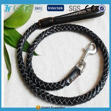Fashion Eco-friendly Real Cow Leather Dog pet Leash pet products