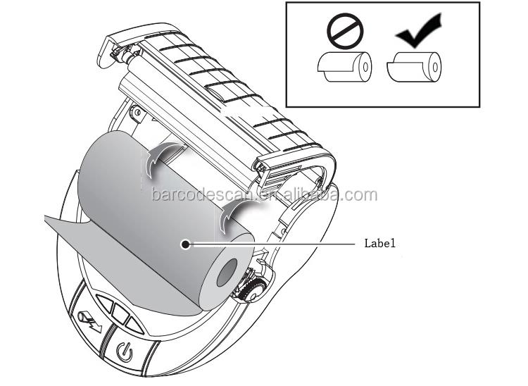 Беспроводная связь Bluetooth принтер зебра EZ320 мобильный принтер