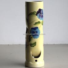 Decoration Flower Long Stem Vase With Holes