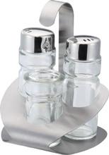 3pcs Cruet Set, Cheap kitchen Accessory glass oil and vinegar cruet